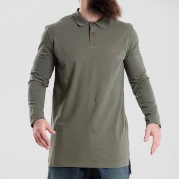 Polo - Vert Kaki - Oversize - Manche Longue - Dc Jeans - 5749