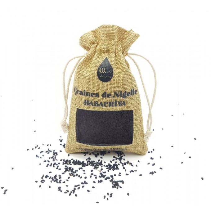 "Graine de Nigelle ""Habachia"" - Ethiopie - Grade A pureté 99% certifiée - 100 gr - Wadi Shibam"