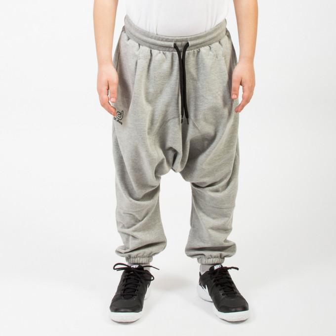 Sarouel Enfant DC Jeans - Jogging Long - GRIS Clair - Dianoux Collection - 5724