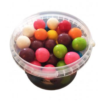 Bonbons Mixe de Fruits Boule de Bubble Gum - Bebeto - Halal - Boite de 300gr