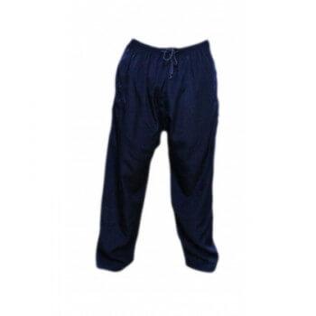 Pantalon Afaq - Sirwal Bleu Marine - Coupe Droite