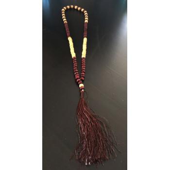Chapelet - Tasbih 99 Bois Bicolor - Petite Perles - 5940