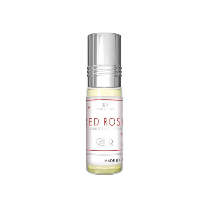 Red Rose - Musc Sans Alcool - Concentré de Parfums Bille 6ml - Al Rehab