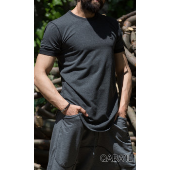 T-Shirt Manches Courtes - Nautik - Anthracite - Qaba'il - 3023