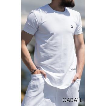 T-Shirt Manches Courtes - Nautik - Blanc - Qaba'il - 3023