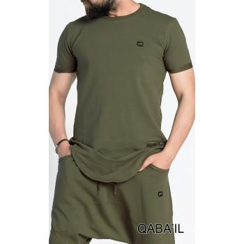 T-shirt kaki Qaba'il : Nautik