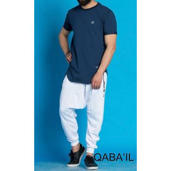 T-shirt indigo Qaba'il : Nautik