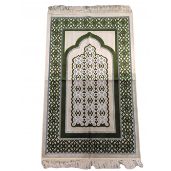 Tapis de Prière de Luxe Vert Clair - 6144