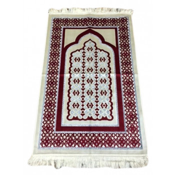 Tapis de Prière de Luxe Rouge