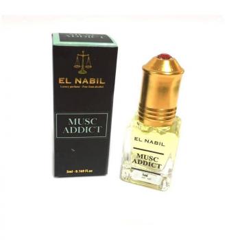 Musc Addict 5ml - Saudi Perfumes - Sans Alcool - El Nabil