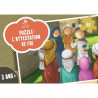 Puzzle L'Attestation de Foi - ASHAHADA - 48 Pièces - Muslim Kid - 3 ans+