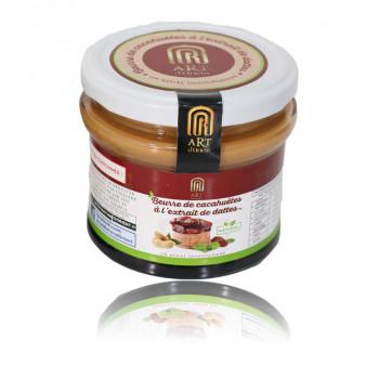 Beurre de Cacahuètes à l'Extrait de Dattes - 100% Naturel - Art d'Orient