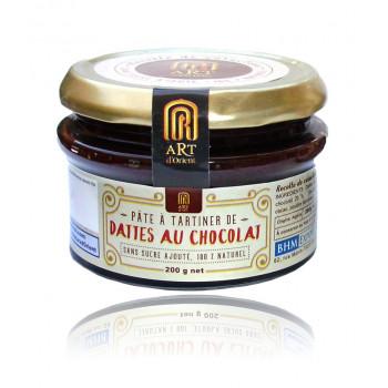 Pâte à Tartiner de Dattes au Chocolat - Sans Sucre Ajouté - 100% Naturel - 200 gr - Art d'Orient