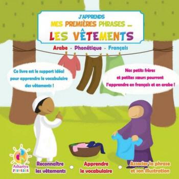 J'Apprends Mes Premiers Phrases... - Les Vêtements - dés 4 Ans - Edition Athariya Kids