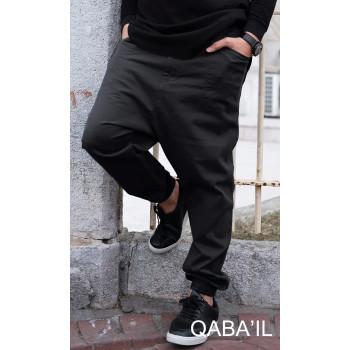 Saroual Pants - Noir - Coupe Djazairi - Qaba'il