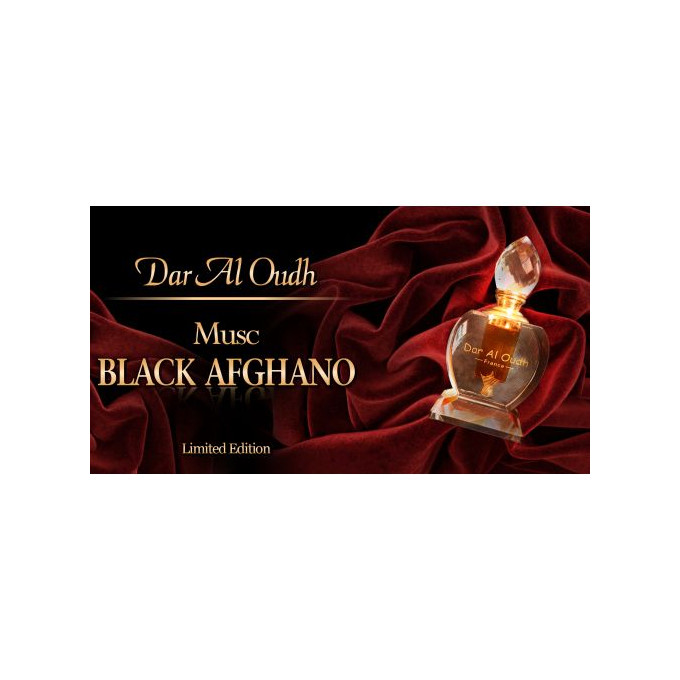 Musc Black Afghano - 6 ml - Ediiton Limité - Dar Al Oudh