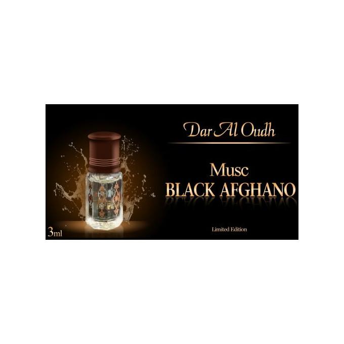 Musc Black Afghano - 3 ml - Ediiton Limité - Dar Al Oudh