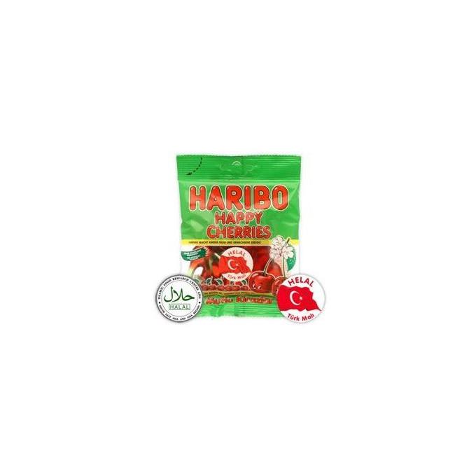 Cerises - Happy Cherries - Haribo Halal - 80g