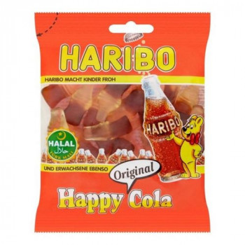 Cola - Happy Cola - Haribo Halal - 100g