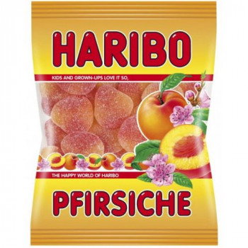 Pêches - Pfirchiche - Haribo Halal - 100g