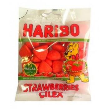 Fraise Tagada - Stawberries çilex - Haribo Halal - 80g