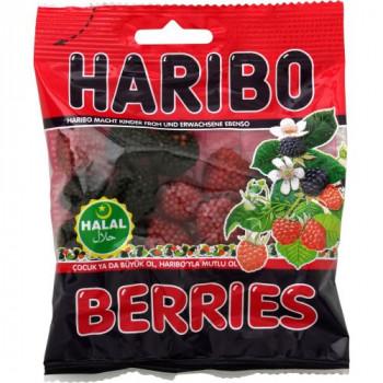Framboise - Berries - Haribo Halal - 100g
