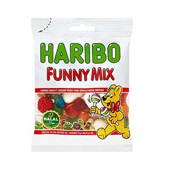 Funny Mix - Haribo Halal - 75g
