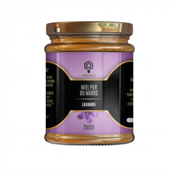Miel de Lavande - Miel du Maroc - Assali - 250 gr