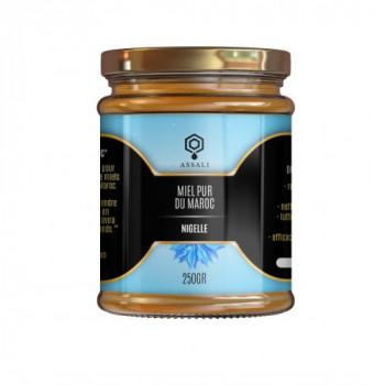 Miel de Habba Sawda - Graine de Nigelle - Miel du Maroc - Assali - 250 gr