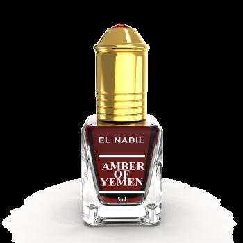 AMBER OF YEMEN 5 ml - Saudi Perfumes - Sans Alcool - El Nabil