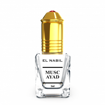 Musc Ayad - Parfum : Mixte - Extrait de Parfum Sans Alcool - El Nabil - 5 ml