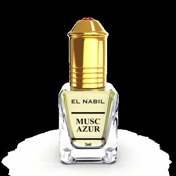 Musc Azur - Parfum : Homme - Extrait de Parfum Sans Alcool - El Nabil - 5 ml