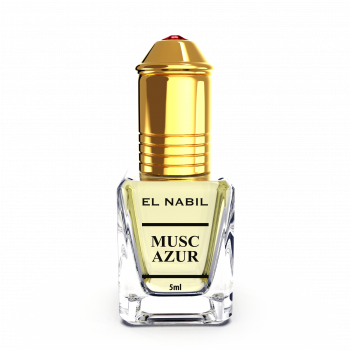 Musc Azur 5 ml - Saudi Perfumes - Sans Alcool - El Nabil