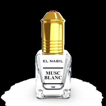 Musc Blanc 5 ml - Saudi Perfumes - Sans Alcool - El Nabil