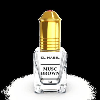 Musc Brown 5 ml - Saudi Perfumes - Sans Alcool - El Nabil