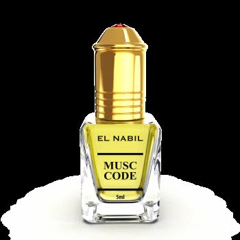 Musc Code 5 ml - Saudi Perfumes - Sans Alcool - El Nabil