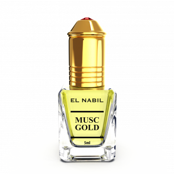 Musc Gold 5 ml - Saudi Perfumes - Sans Alcool - El Nabil