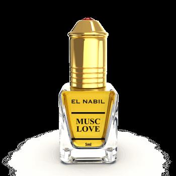 Musc Love 5ml - Saudi Perfumes - Sans Alcool - El Nabil
