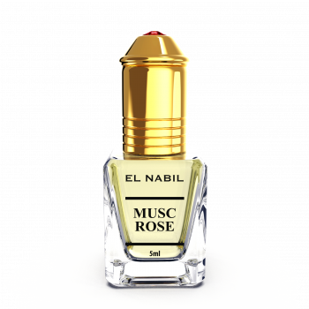Musc Rose - Parfum : Mixte - Extrait de Parfum Sans Alcool - El Nabil - 5 ml