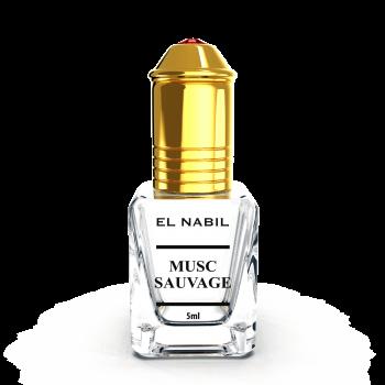 Musc Sauvage 5 ml - Saudi Perfumes - Sans Alcool - El Nabil