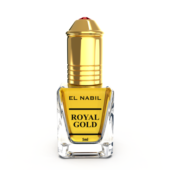 Royal Gold 5 ml - Saudi Perfumes - Sans Alcool - El Nabil