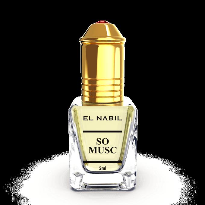 Musc So Musc 5ml - Saudi Perfumes - Sans Alcool - El Nabil