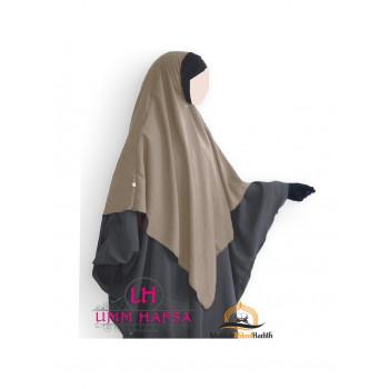 Hijab / Khimar Lycra - Taupe - Umm Hafsa
