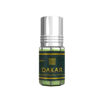 Dakar - Musc Sans Alcool - Concentré de Parfums Bille 3ml - Al Rehab