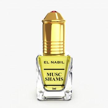 Musc Shams - Parfum : Mixte - Extrait de Parfum Sans Alcool - El Nabil - 5 ml