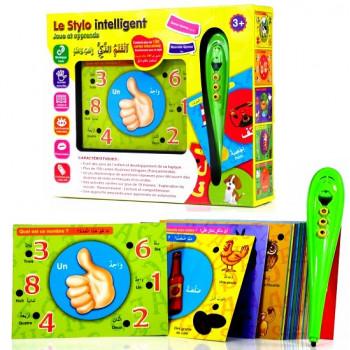 Le Stylo Interactif et Intelligent - plus de 100 cartes d'éveils pour les enfants - fr/ar - à partir de 3 ans + 4596