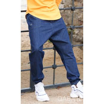Sarouel bleu Qaba'il : coupe djazairi - Pants Jeans