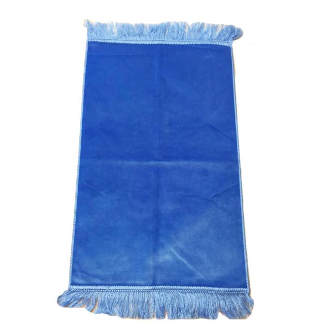 Bleu Clair - Tapis de Prière pour Enfant - 47,50 x 87 cm