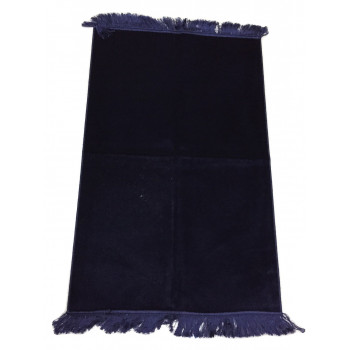 Bleu Nuit - Tapis de Prière Uni - Enfant - 47,50 x 87 cm