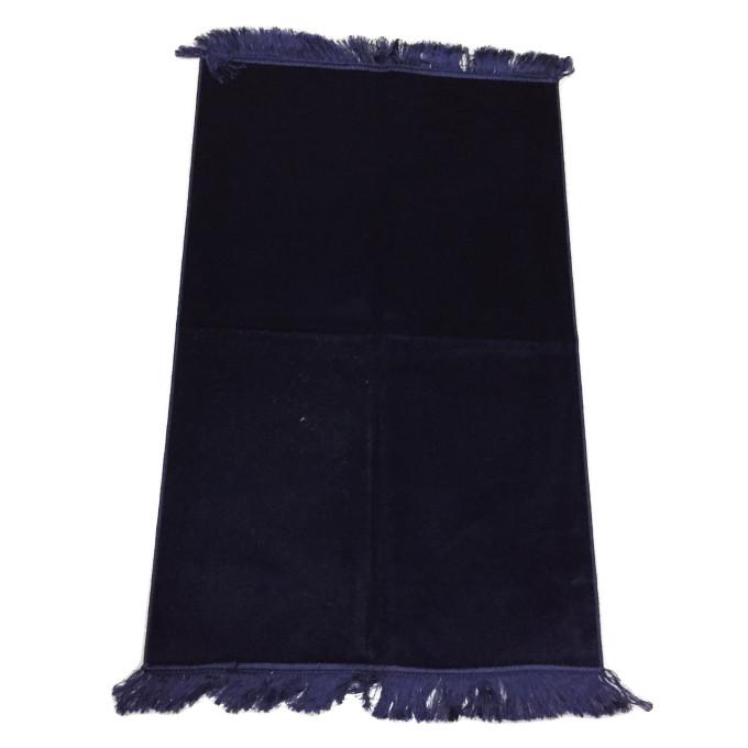 Bleu Nuit - Tapis de Prière pour Enfant - 47,50 x 87 cm